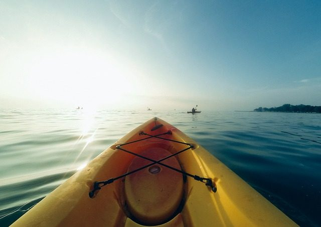 If you're not interested in boarding a big boat, you can always explore the waterways of the area by taking a guided kayak or canoe eco tour.