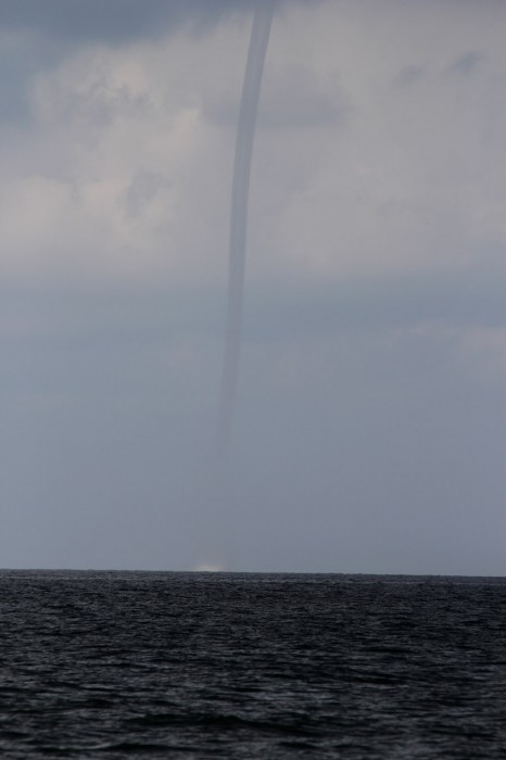 water spout labor day