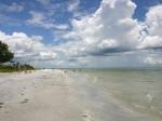 expanse of beach