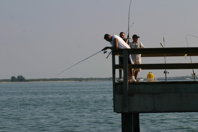 fishing pier on Sanibel Island
