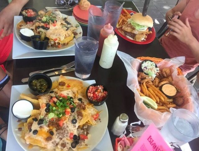 Popular dishes at The Island Cow in Sanibel Island