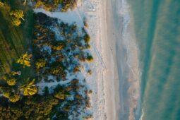 Beautiful Captiva Island beach